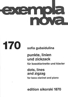 Sofia Gubaidulina: Punkte  Linien und Zickzack: Clarinet: Instrumental Work