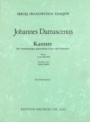 Alexander Sergejewitsch Tanejev: Johannes Damascenus: Mixed Choir