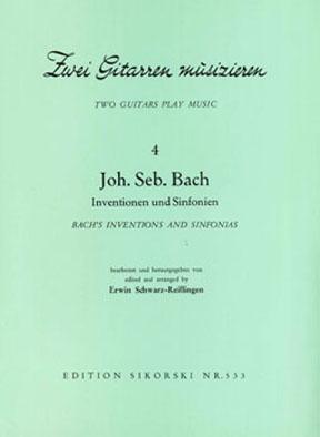 Johann Sebastian Bach: Inventionen & Sinfonien: Guitar Duet: Instrumental Work