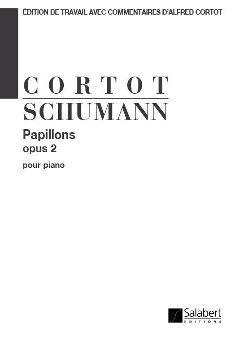 Robert Schumann: Papillons Opus 2 (Cortot): Piano