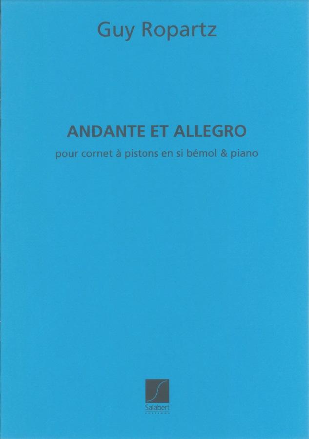 Joseph Guy Ropartz: Andante et Allegro: Cornet