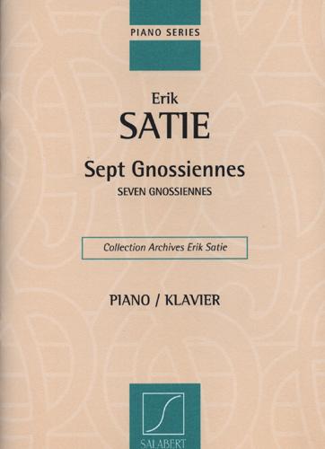 Erik Satie: Sept Gnossiennes: Piano: Instrumental Album