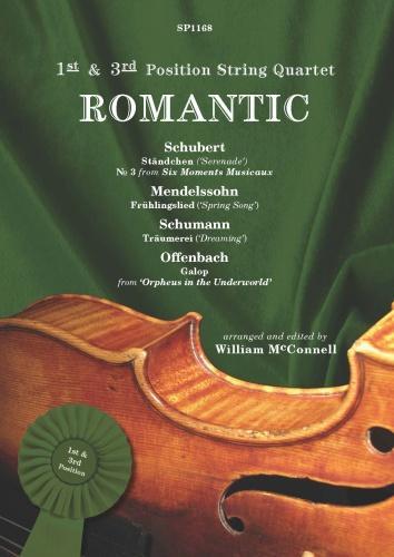 Romantic: String Quartet: Score and Parts