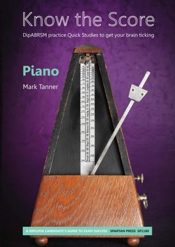 M. Tanner: Know The Score: Piano: Instrumental Album