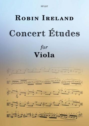 Robin Ireland: Concert Etudes for Viola: Viola: Artist Songbook