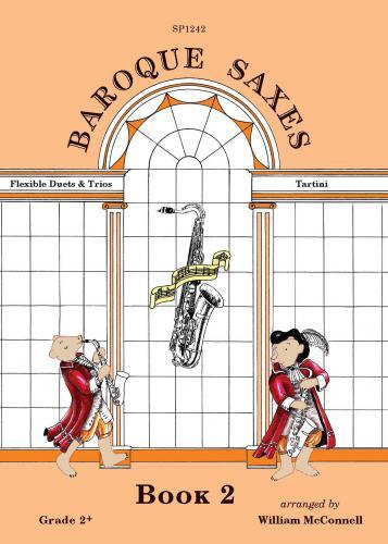 Baroque Saxes Vol.2: Saxophone Ensemble: Instrumental Album
