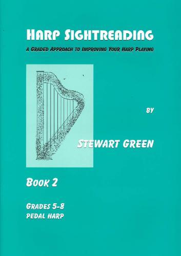 Stewart Green: Harp Sightreading Book 2: Harp: Instrumental Tutor