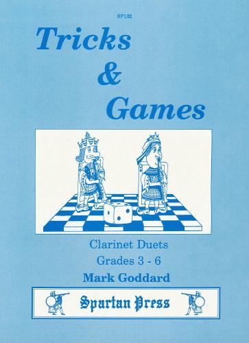 M. Goddard: Tricks And Games: Clarinet Duet: Instrumental Album