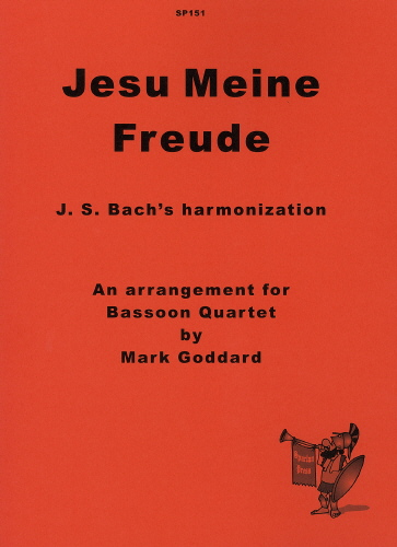 Johann Sebastian Bach: Jesu Meine Freude: Bassoon Ensemble: Instrumental Album