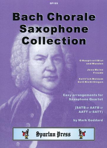Johann Sebastian Bach: Bach Chorale Saxophone Collection: Saxophone Ensemble: