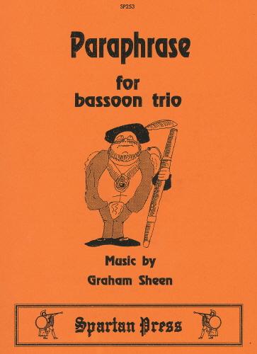G. Sheen: Paraphrase: Bassoon Ensemble: Instrumental Album