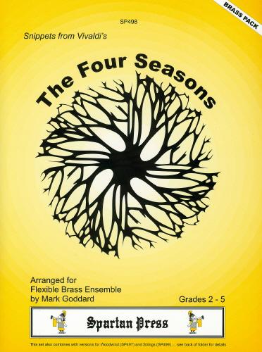Antonio Vivaldi: Snippets From Vivaldi S The 4 Seasons: Brass Ensemble: