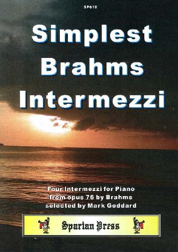 Johannes Brahms: Intermezzi (Simplest): Piano: Instrumental Album
