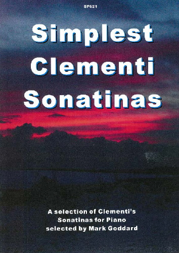 Muzio Clementi: Sonatinen (Simplest): Piano: Instrumental Album