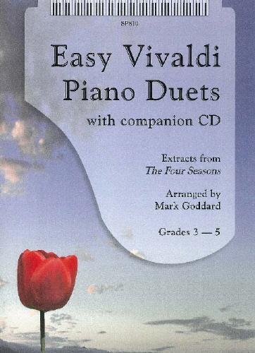 Antonio Vivaldi: Easy Vivaldi Piano Duets: Piano Duet: Instrumental Album