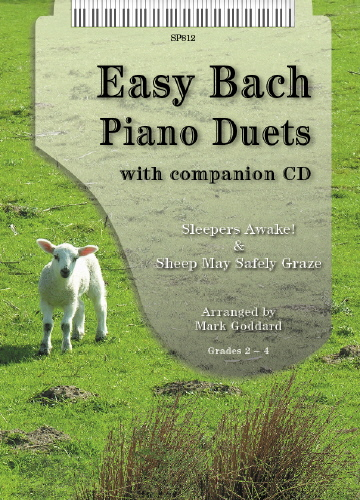 Johann Sebastian Bach: Easy Bach Piano Duets: Piano Duet: Instrumental Album