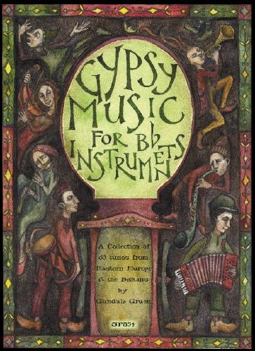 Rima Staines: Gypsy Music for Bb Instruments: Clarinet: Instrumental Album