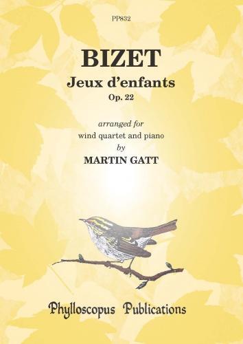 Georges Bizet: Jeux D'Enfants: Wind Ensemble: Score