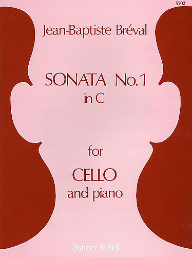 Jean-Baptiste Breval: Sonata In C For Cello and Piano: Cello: Instrumental Work
