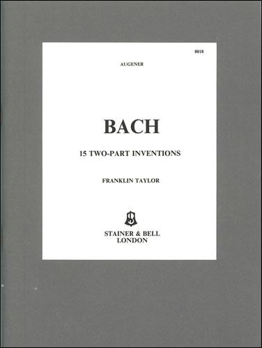 Johann Sebastian Bach: 15 Two-Part Inventions BWV 772-786: Piano: Instrumental