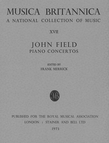 John Field: Concertos For Piano and Orchestra Nos. 1-3: Piano: Score