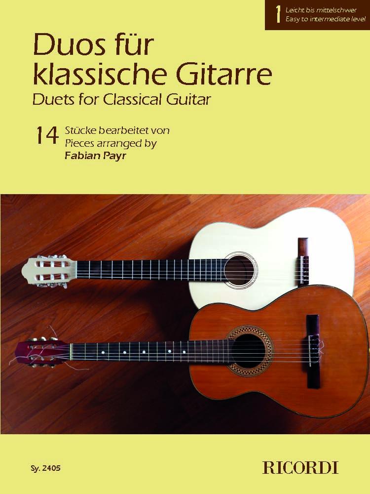 Duos für klassische Gitarre 1: Guitar: Instrumental Album