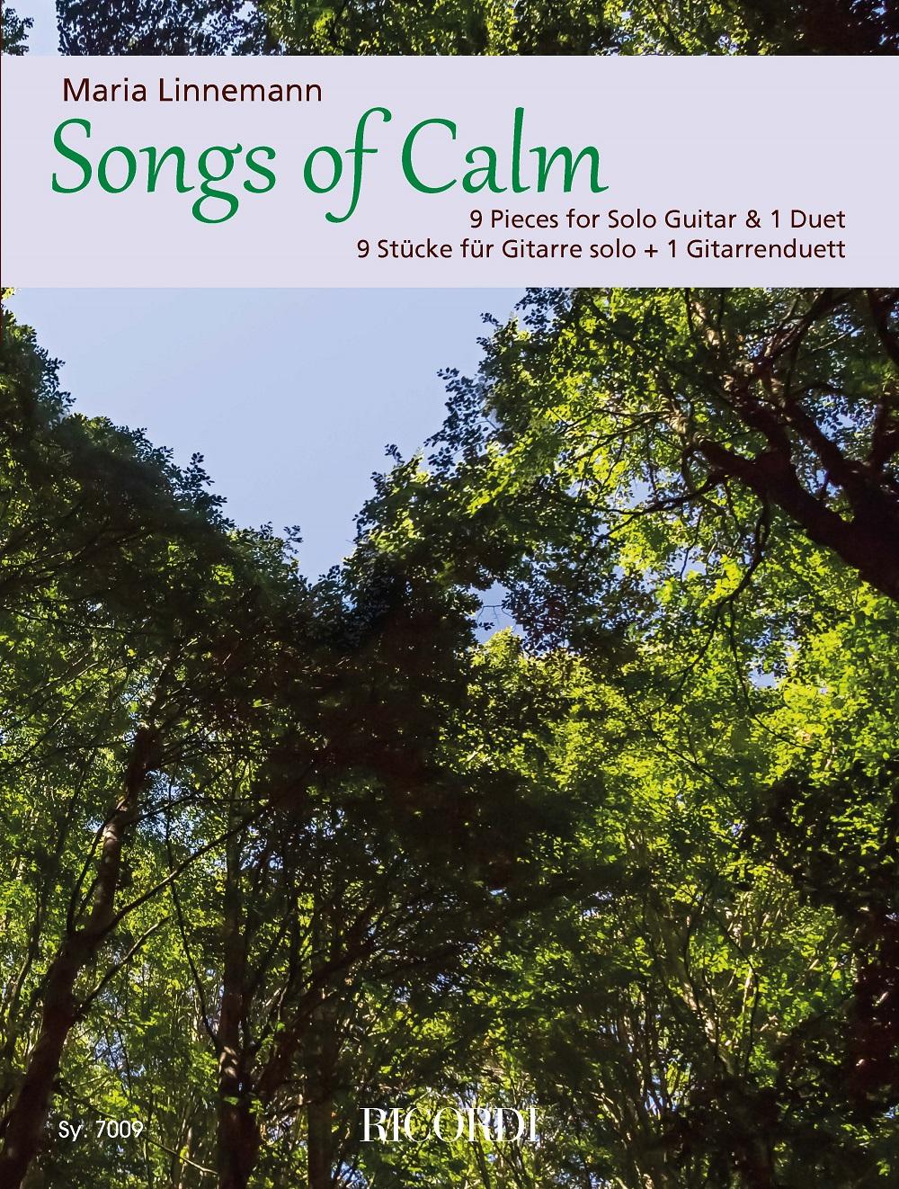 Maria Linnemann: Songs of Calm: Guitar Solo: Instrumental Album