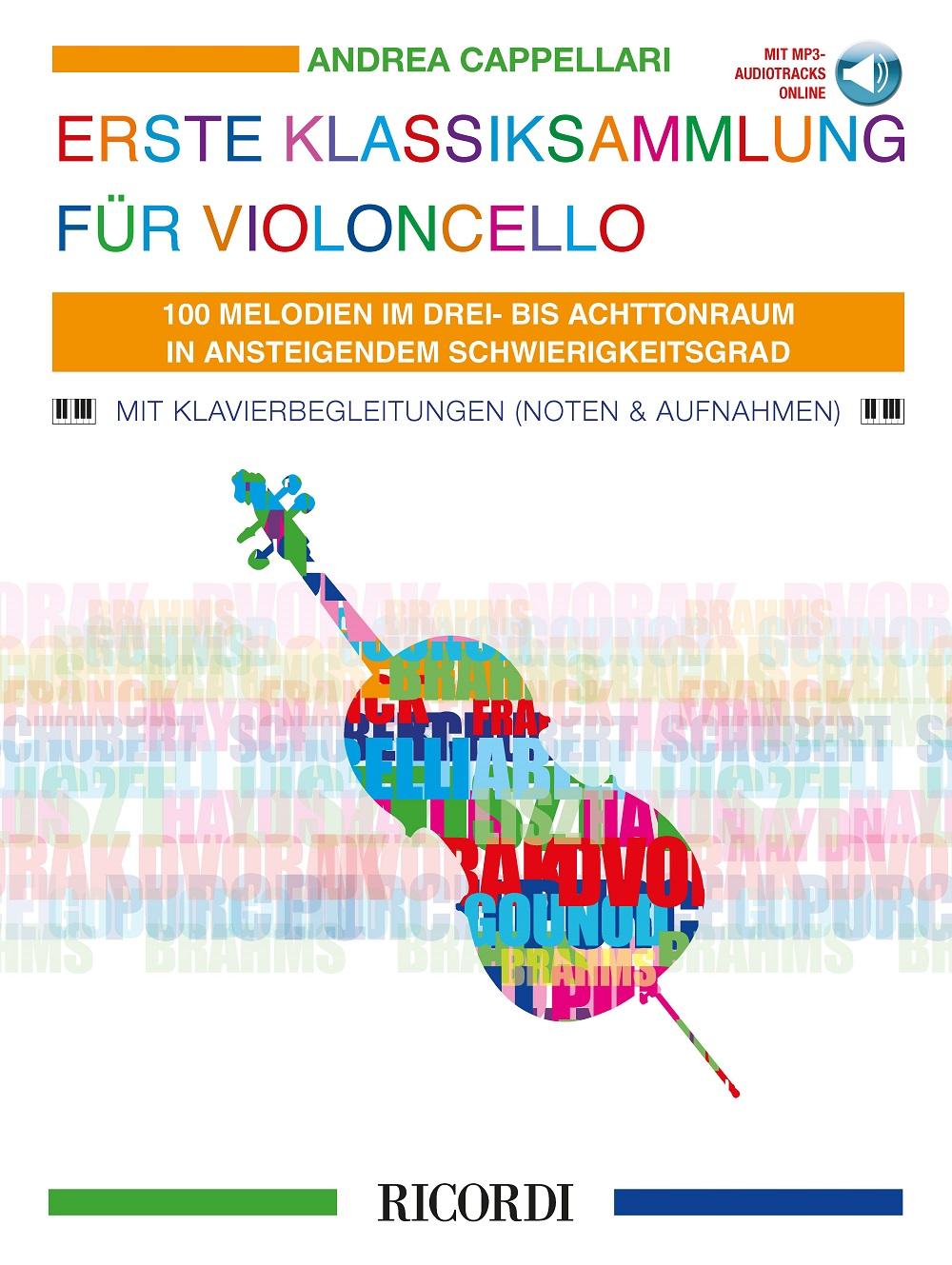 Erste Klassiksammlung für Violoncello: Cello Solo: Instrumental Album