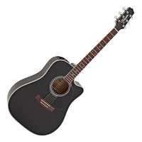 Takamine Dread Acoustic Guitar With Case: Acoustic Guitar