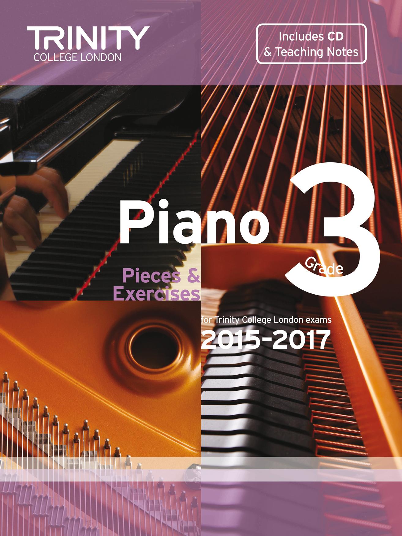 Piano Exam Pieces & Exercises 2015-2017 - Grade 3: Piano: Instrumental Album