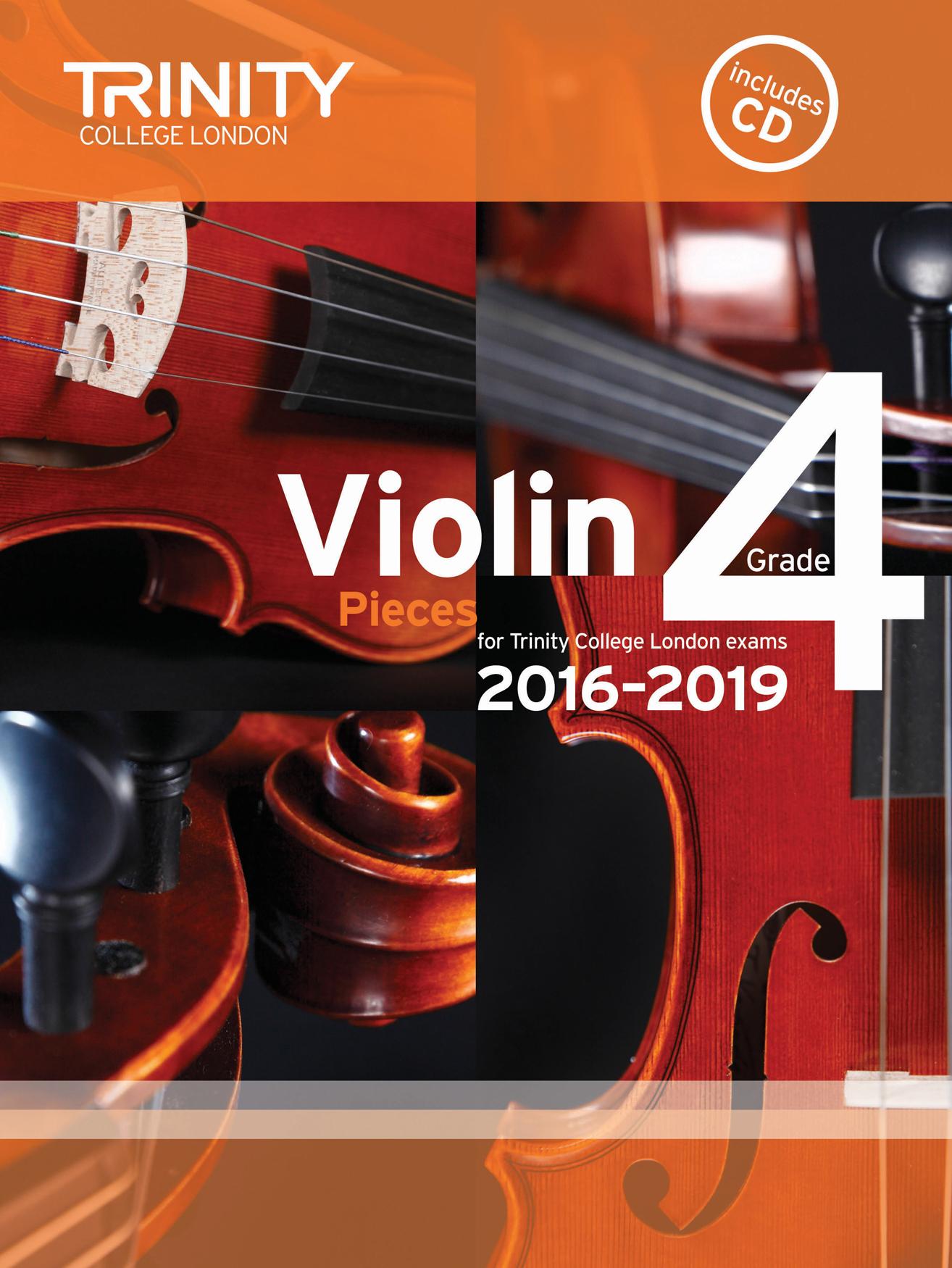 Violin Exam Pieces - Grade 4: Violin: Score and Parts