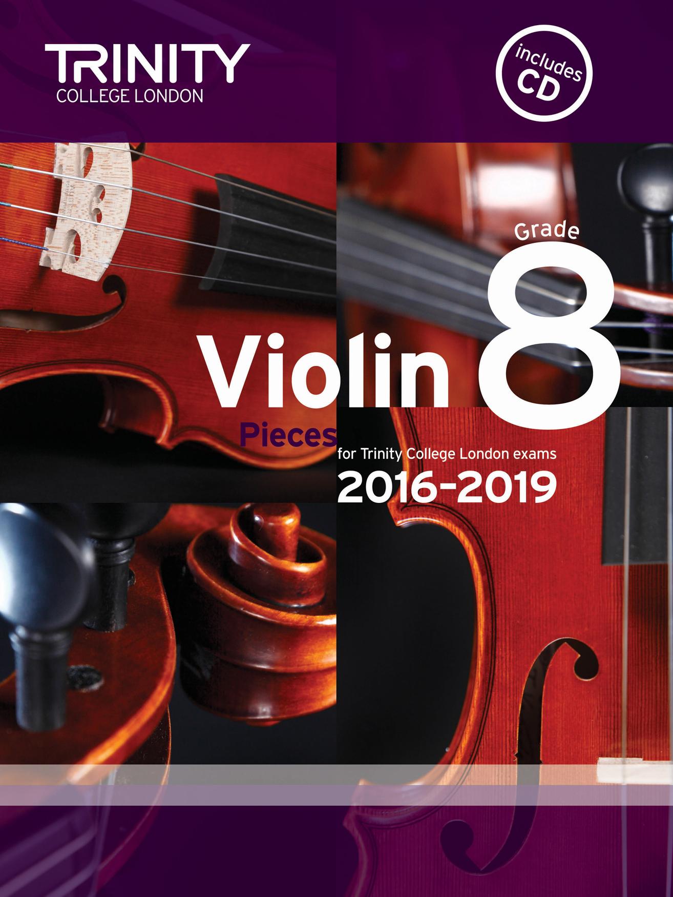 Violin Exam Pieces - Grade 8: Violin: Score and Parts