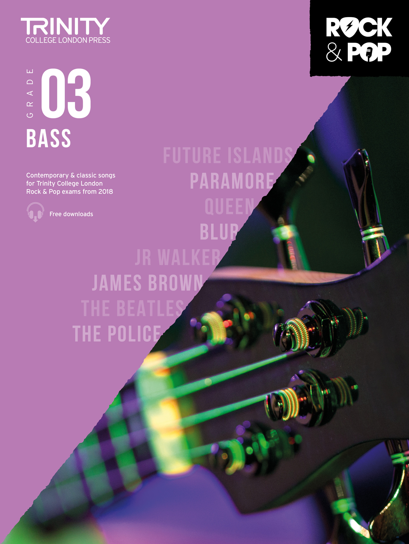 Trinity College London Rock & Pop 2018 Bass Grade 3 (Trinity Rock & Pop)