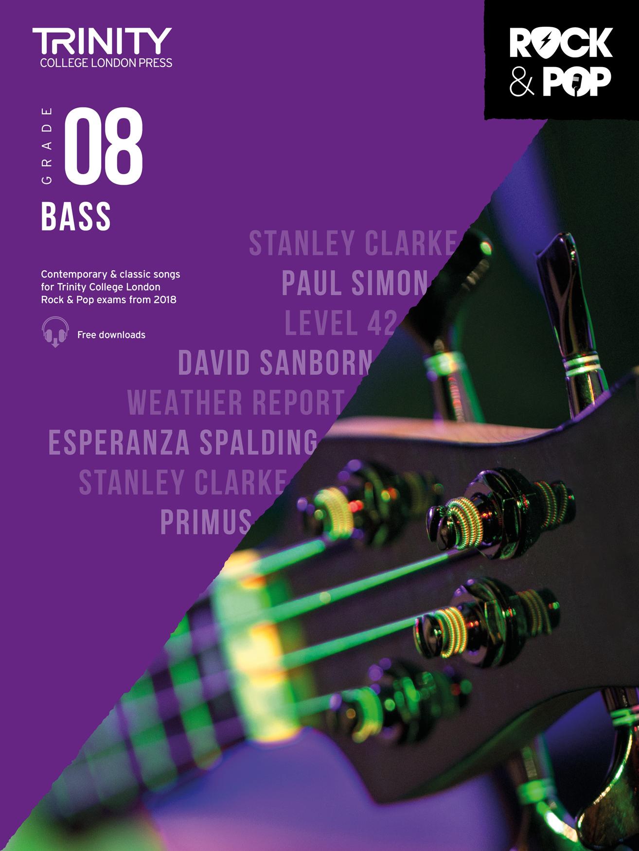 Trinity Rock and Pop Bass Grade 8: Bass Guitar: Instrumental Work