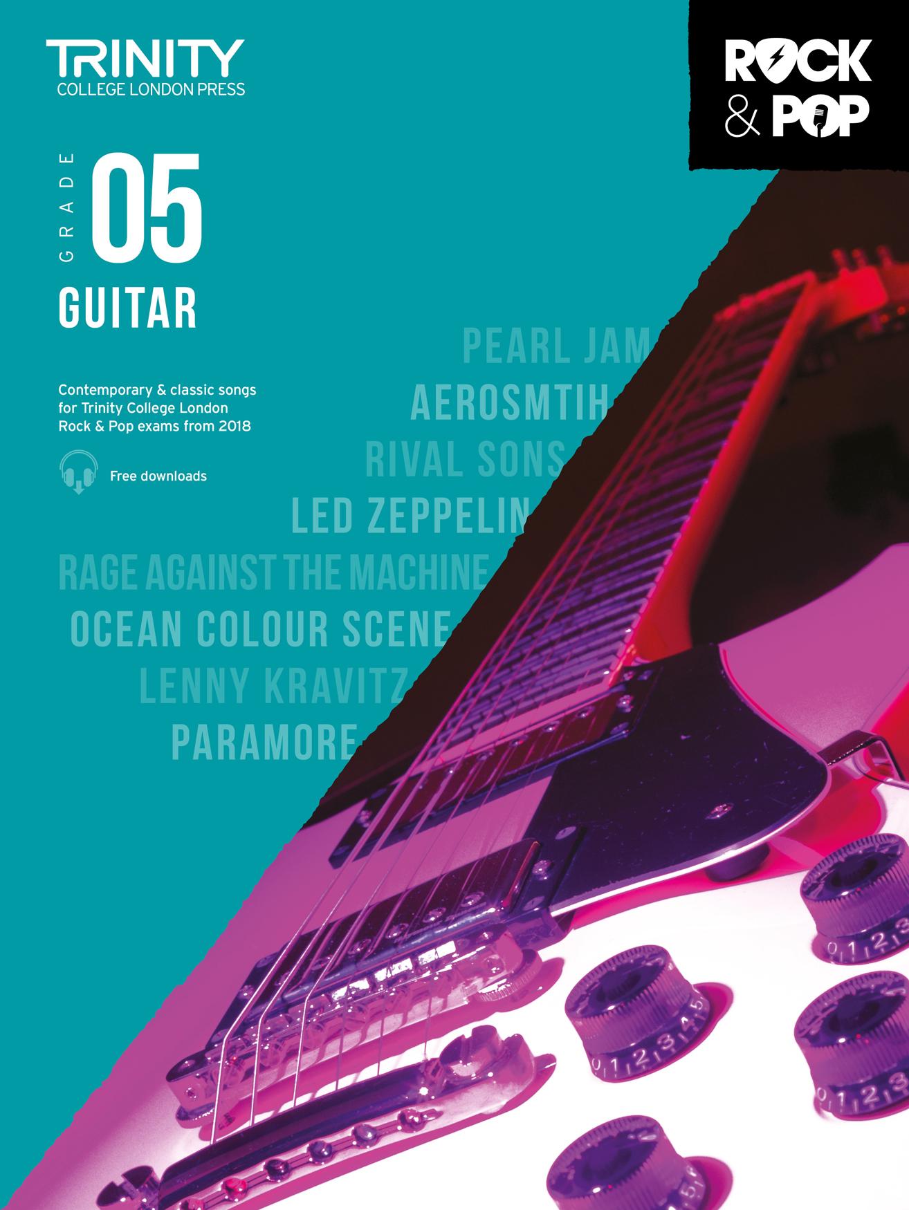 Trinity College London Rock & Pop 2018 Guitar Grade 5 (Trinity Rock & Pop)