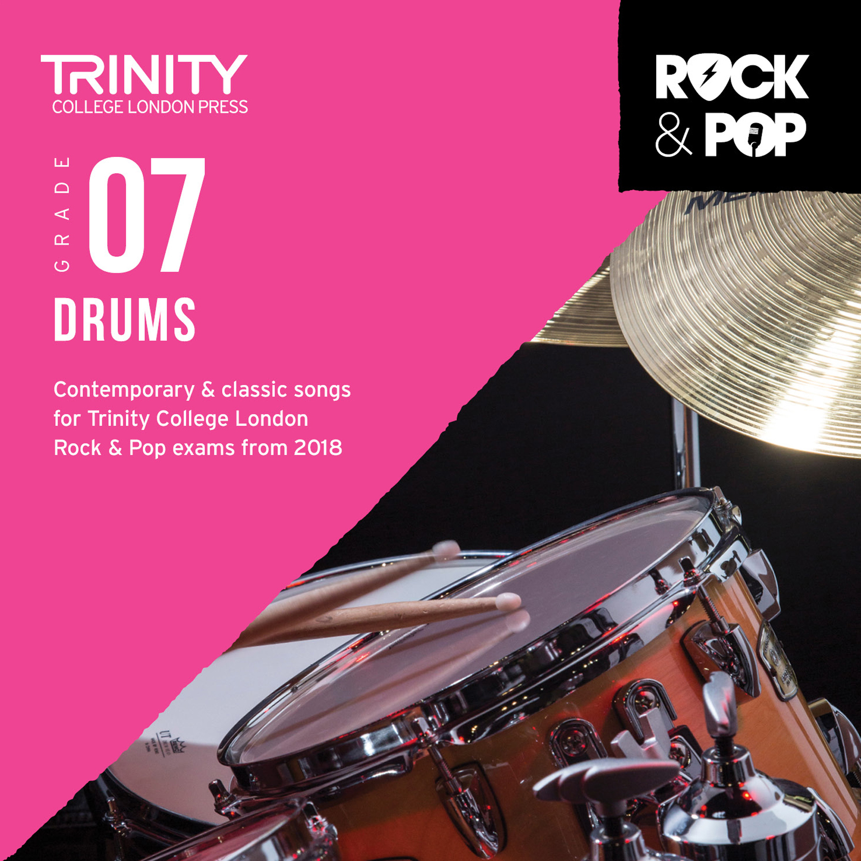 Trinity College London Rock & Pop 2018 Drums Grade 7 CD Only (Trinity Rock & Pop)