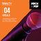 Trinity Rock and Pop 2018-20 Vocals Grade 4 CD: Vocal: CD