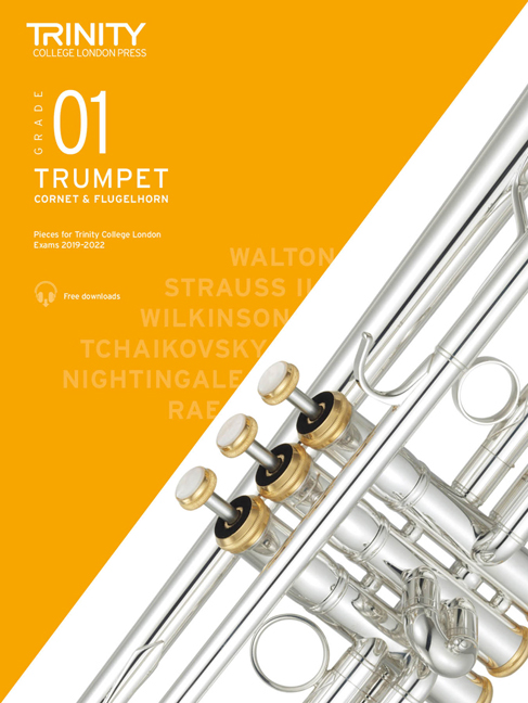 Trumpet Exam Pieces 2019-2022 Grade 1: Trumpet: Instrumental Tutor