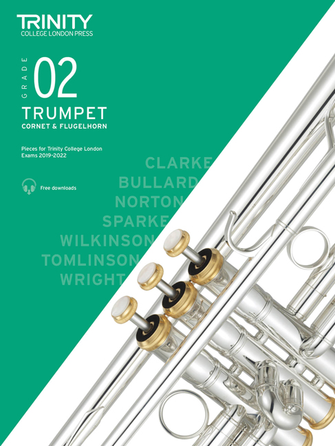 Trumpet Exam Pieces 2019-2022 Grade 2: Trumpet: Instrumental Tutor