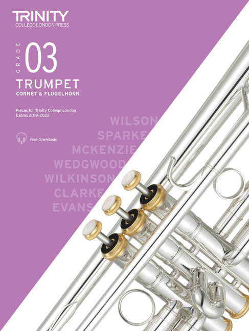 Trumpet Exam Pieces 2019-2022 Grade 3: Trumpet: Instrumental Tutor