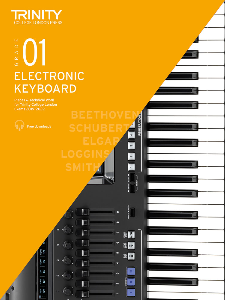 Andrew Smith: Grade 1 Electronic Keyboard Exam Pieces 2019-2022: Electric