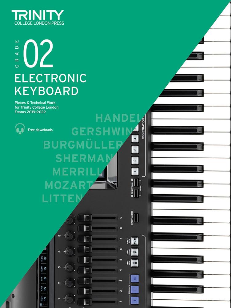 Grade 2 Electronic Keyboard Exam Pieces 2019-2022: Electric Keyboard: