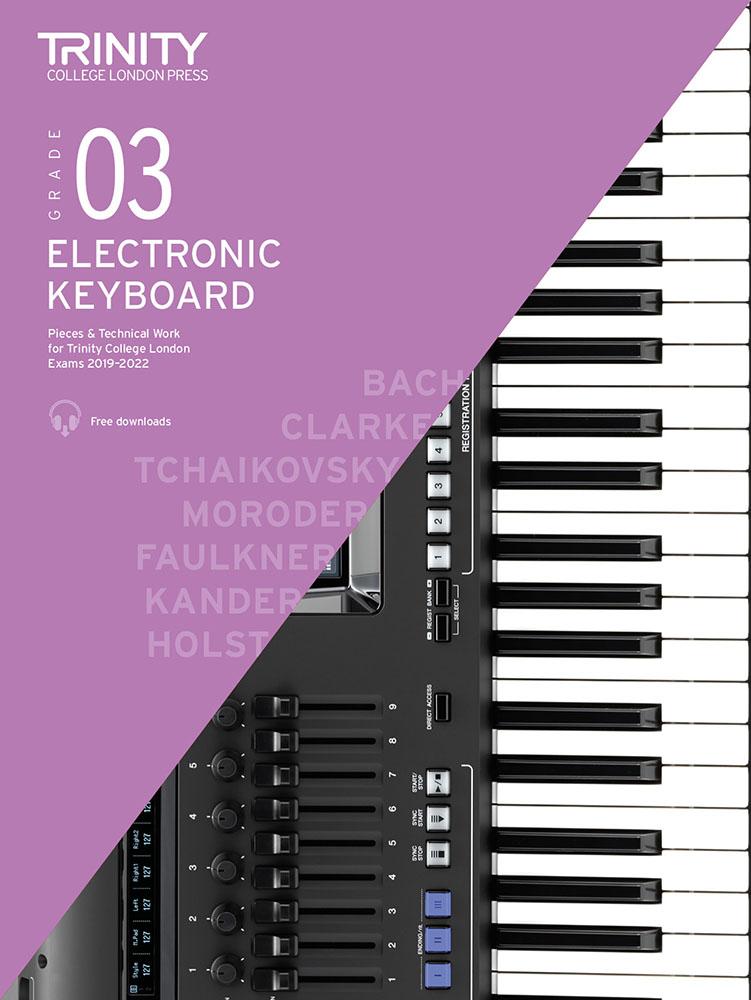 Grade 3 Electronic Keyboard Exam Pieces 2019-2022: Electric Keyboard: