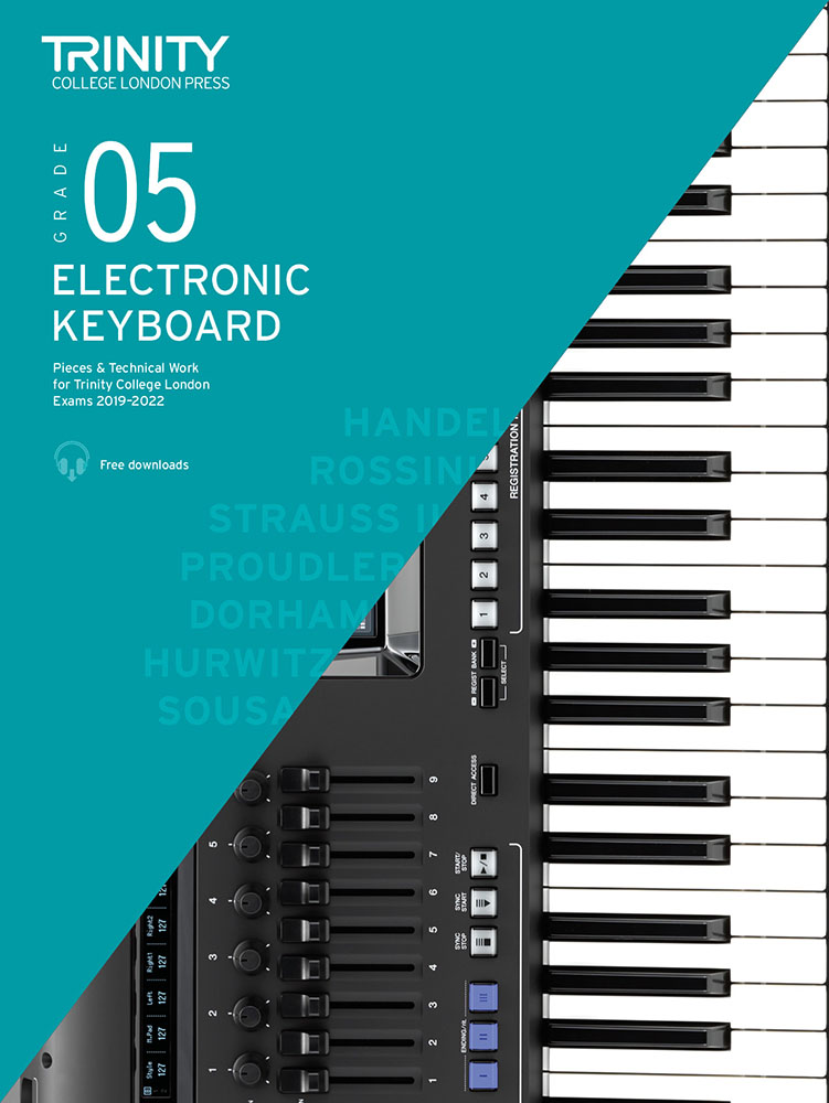 Victoria Proudler: Grade 5 Electronic Keyboard Exam Pieces 2019-2022: Electric