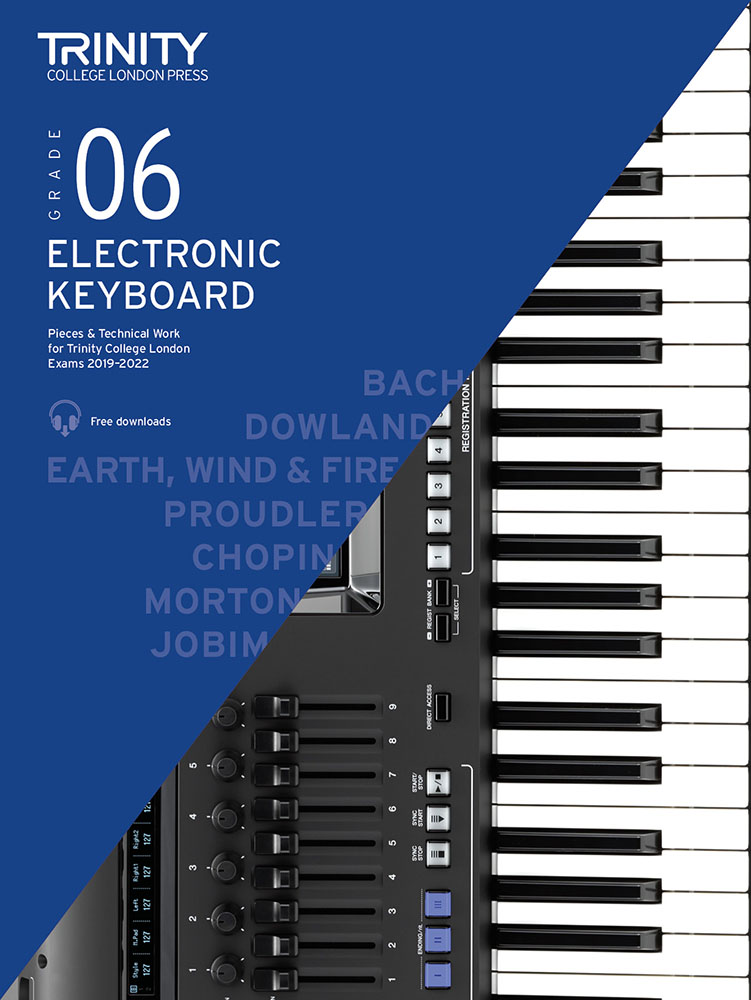 Victoria Proudler: Grade 6 Electronic Keyboard Exam Pieces 2019-2022: Electric