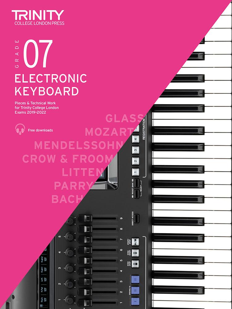 Grade 7 Electronic Keyboard Exam Pieces 2019-2022: Electric Keyboard: