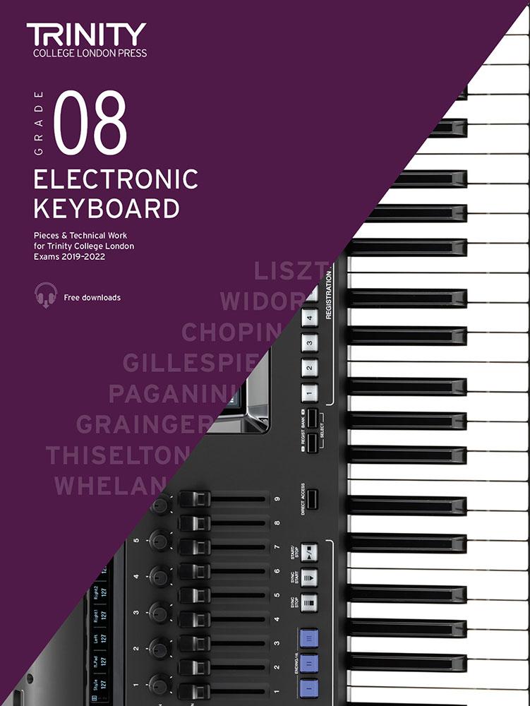 Martin Thiselton: Grade 8 Electronic Keyboard Exam Pieces 2019-2022: Electric