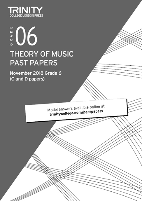 Theory of Music Past Papers (Nov 2018) Grade 6: Theory