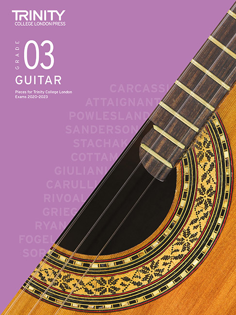 Guitar Exam Pieces 2020-2023: Grade 3: Guitar: Instrumental Tutor