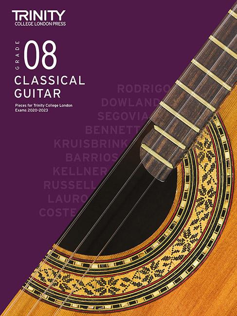 Guitar Exam Pieces 2020-2023: Grade 8: Guitar: Instrumental Tutor